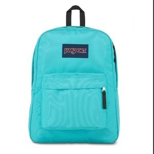 Jansport Superbreak Turquoise Backpack